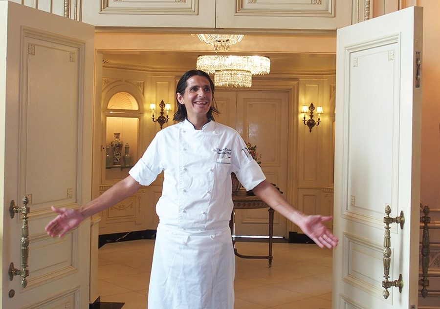 Executive Chef Fabrice Hardel of The Westgate Hotel San Diego