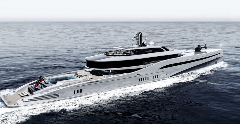 MESD 100 Superyacht Concept yacht
