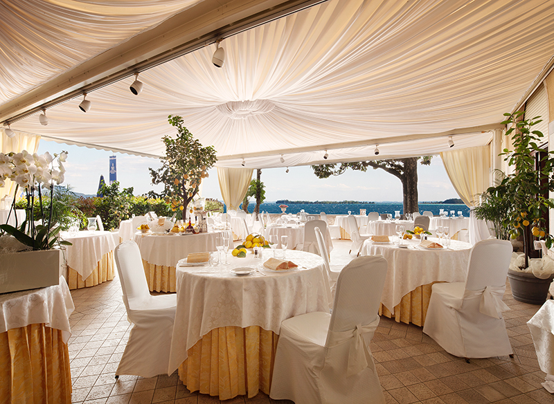 Grand Hotel Gardone Restaurant Giardino Dei Limoni, Verona and Lake Garda