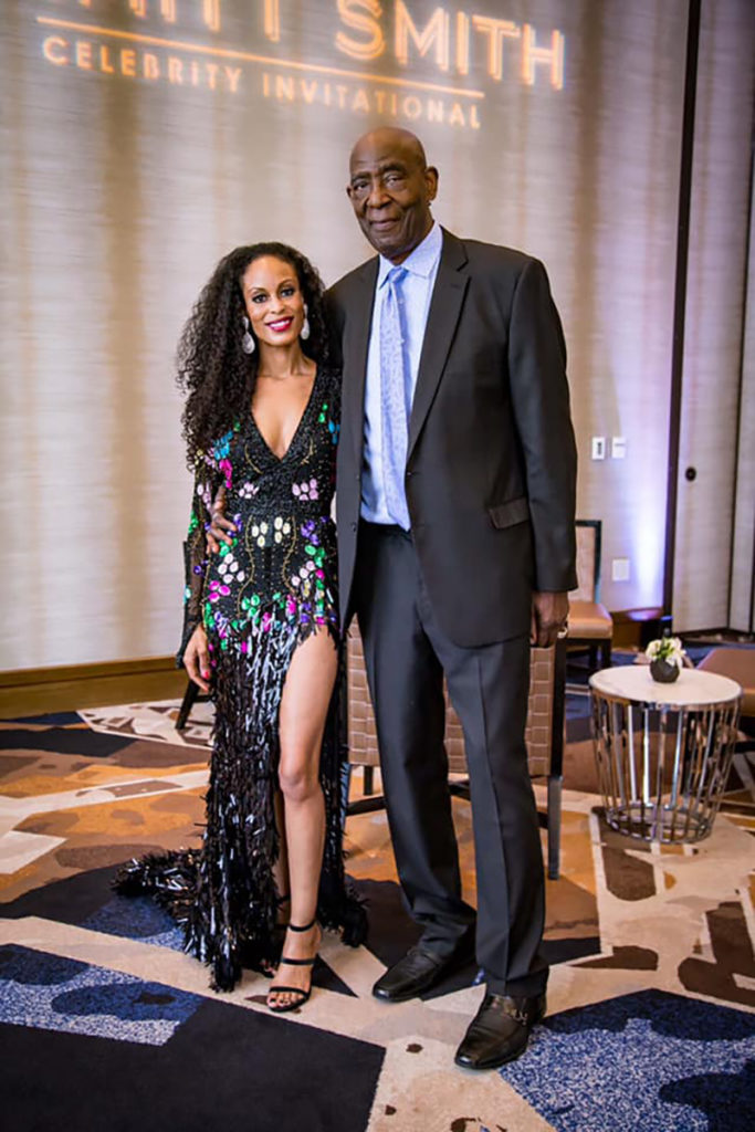 Deve Sanford, Publisher of Upscale Living Magazine DALLAS Edition and Ron Sanford
