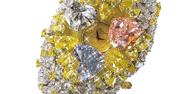 Chopard 201-Carat Watch is considered one of the most expensive watches in the world