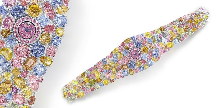 Graff Diamonds Hallucination is considered one of the Most Expensive Watches in the World