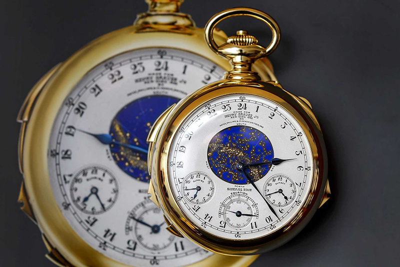 Patek Philippe Henry Graves Super complication watch is considered one of the most expensive watches in the world