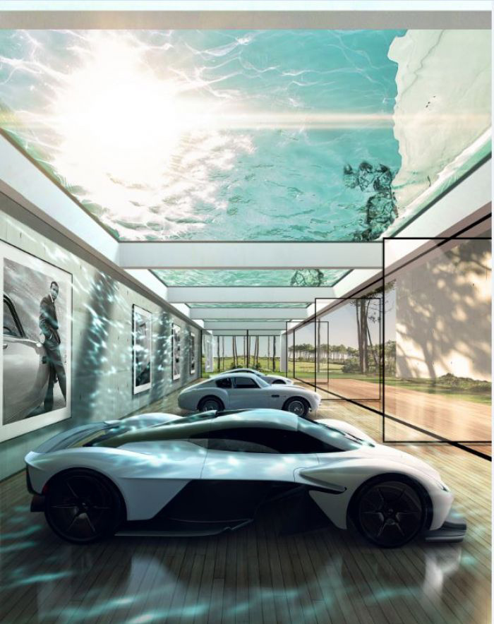 Aston Martin Is Designing Homes Around Your Specific Car