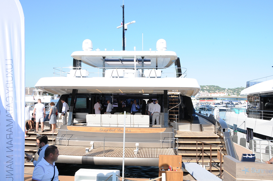 Cannes Yachting Festival 2019 Sunreef 80
