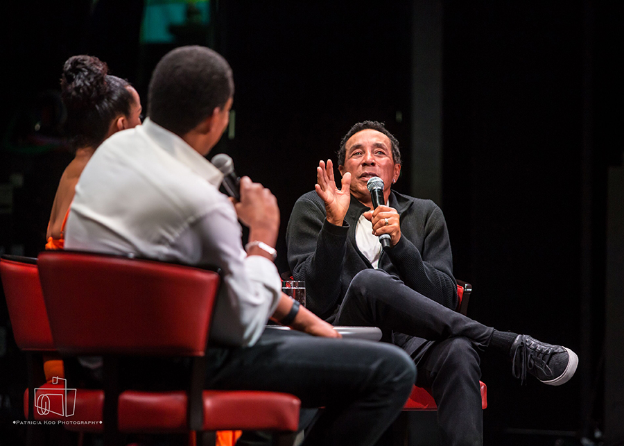 Smokey Robinson Q and A Session with Tony Cornelius. Soul Cruise