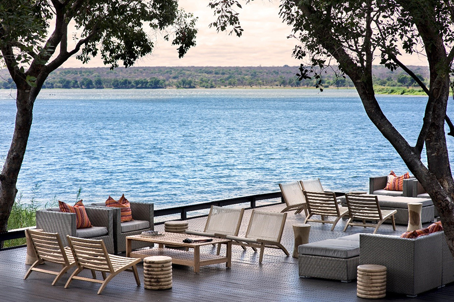 The Royal Chundu Lodge is the only Relais & Chateaux property in Zambia