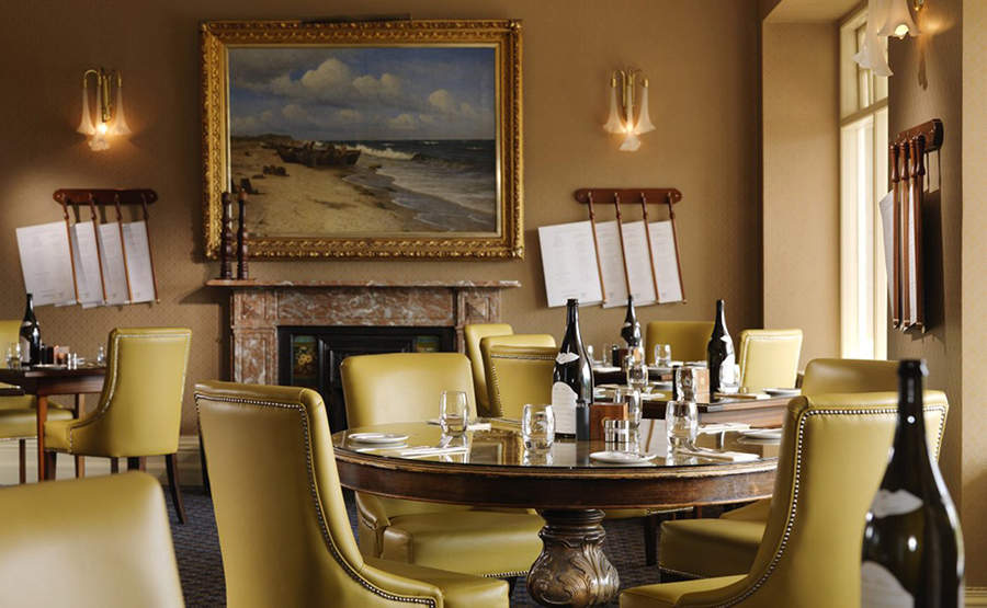Dining at the Park Hotel Kenmare, Ireland