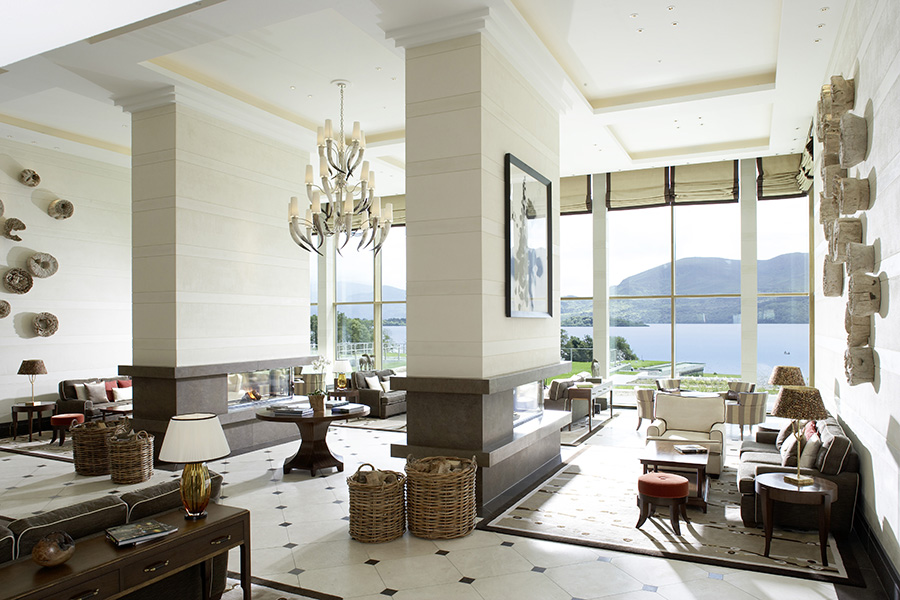 Lobby at the Park Hotel Kenmare
