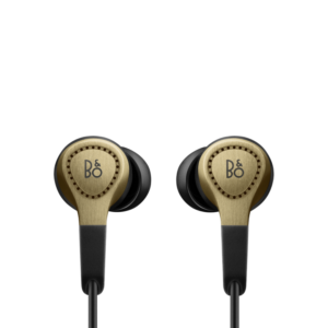 Beoplay H3, champagne color earphone gadgets