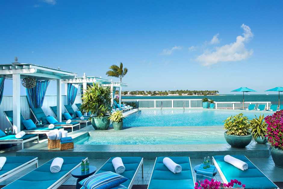 Cupid's Suite Piece of Paradise at Ocean Key Resort & Spa in Key West, Florida, a perfect Valentine's Day getaway