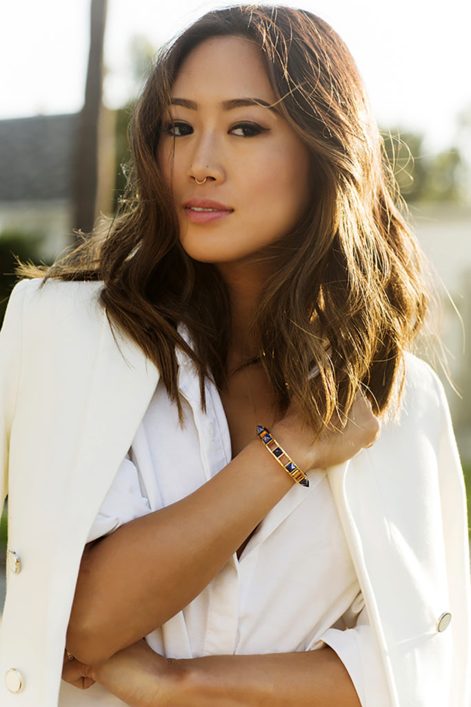 Aimee Song is an interior designer based in Los Angeles. When she launched her blog Song of Style in 2008