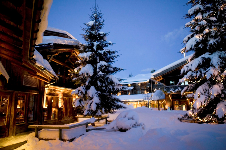 The Romantic Alpine Town of Megeve, home to the iconic Les Fermes de Marie for Valentine's Day 2020