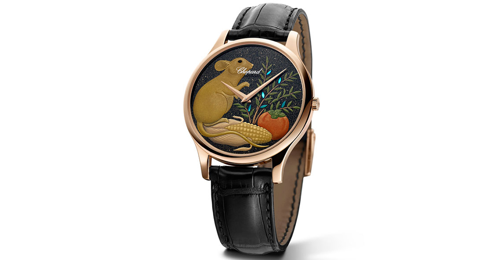 Chopard timepiece celebrates the Year of the Rat