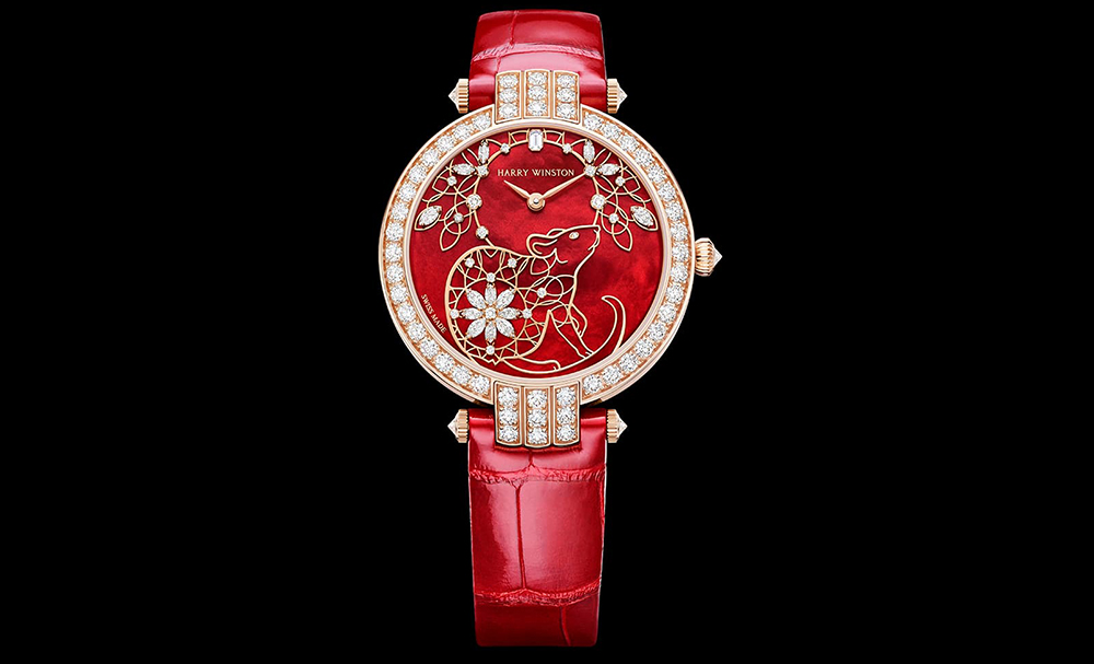 Harry Winston timepiece celebrates the Year of the Rat