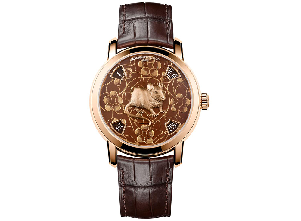 Vacheron ConstantinMetiers d'Art The Legend of the Chinese Zodiac timepiece celebrates the Year of the Rat