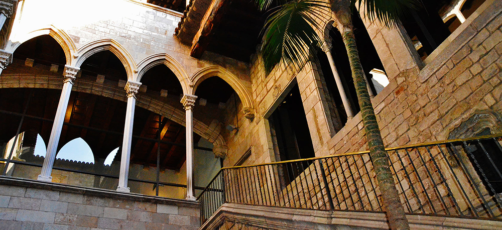 Picasso Museum in Barcelona, Spain