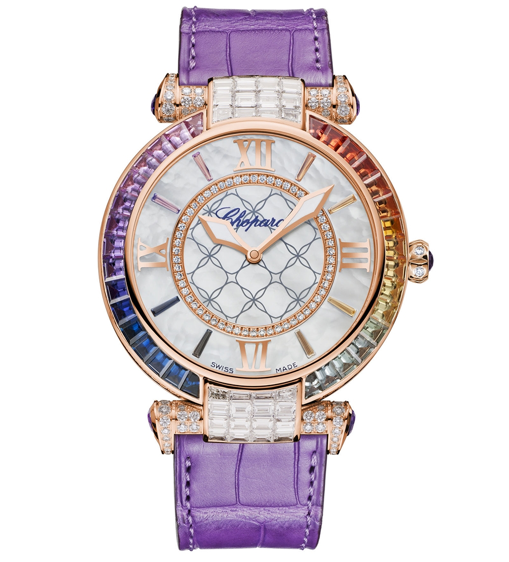 Chopard Imperiale Joaillerie Rainbow watch for women