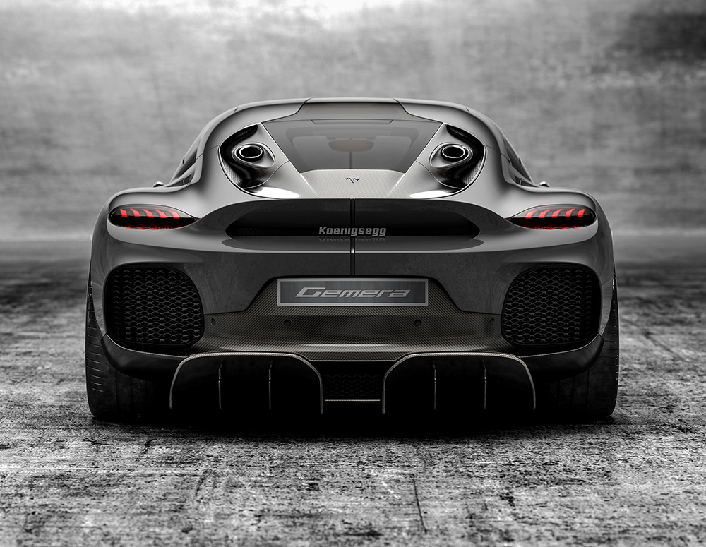 The new Koenigsegg Gemera: The World's First, Four-Seater Mega-GT