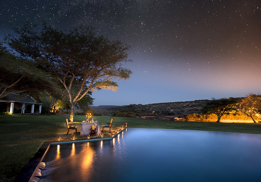 Bushmans Kloof Private Dining under the stars, a great Mother's Day gift