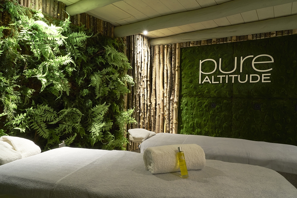 Pure Altitude spa, perfect as a Mother's Day gift