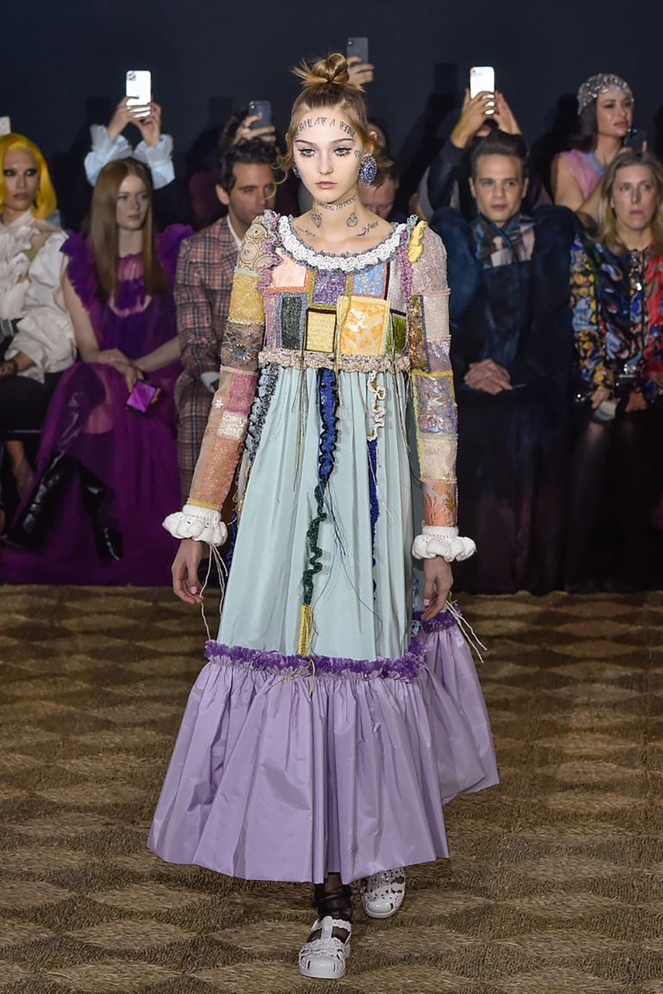 Model walks the runway during the Viktor Rolf Haute Couture