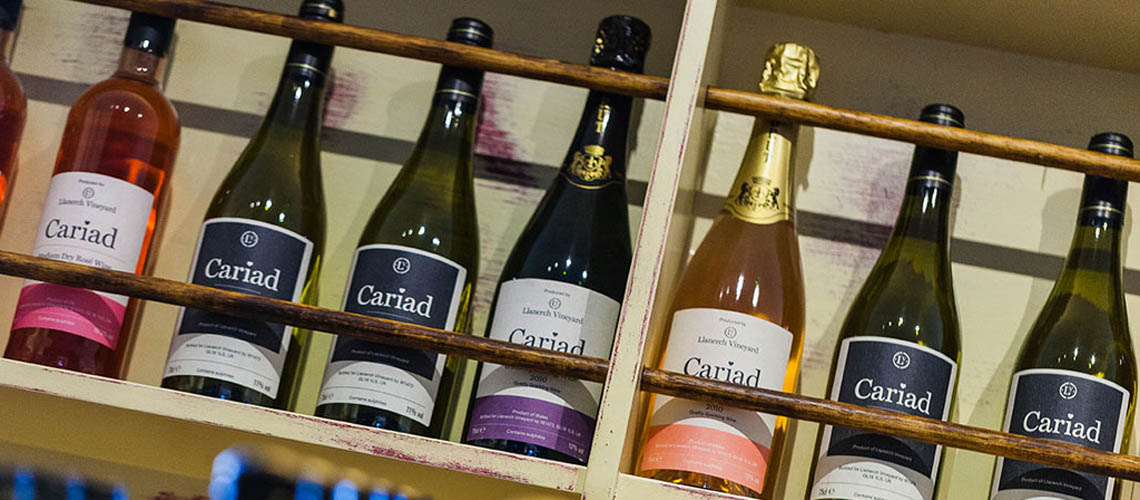 Cariad Wines from Ancre Hill Estates