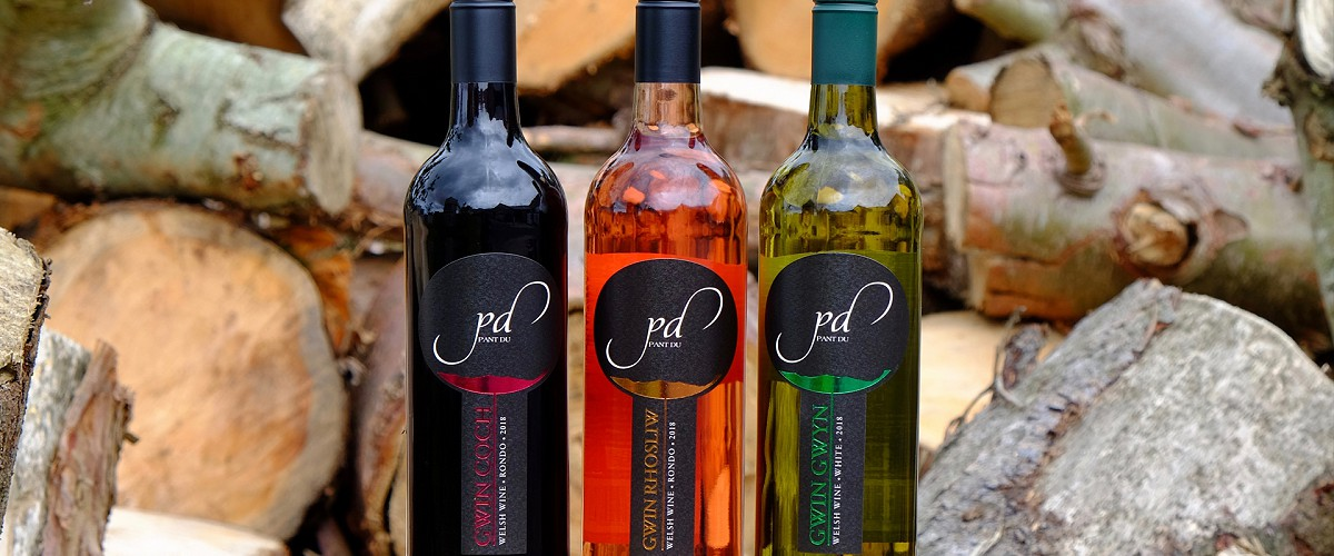 Pant Du Vineyard wines