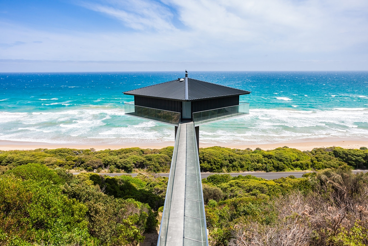 The Pole House is perfect for a romantic getaway in Victoria Australia