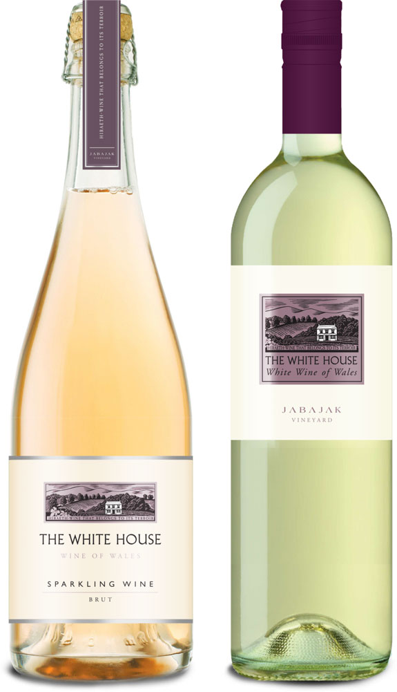The White House welsh wines from Jabajak Vineyard