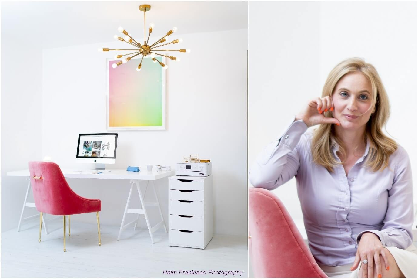 Claire Adler home office