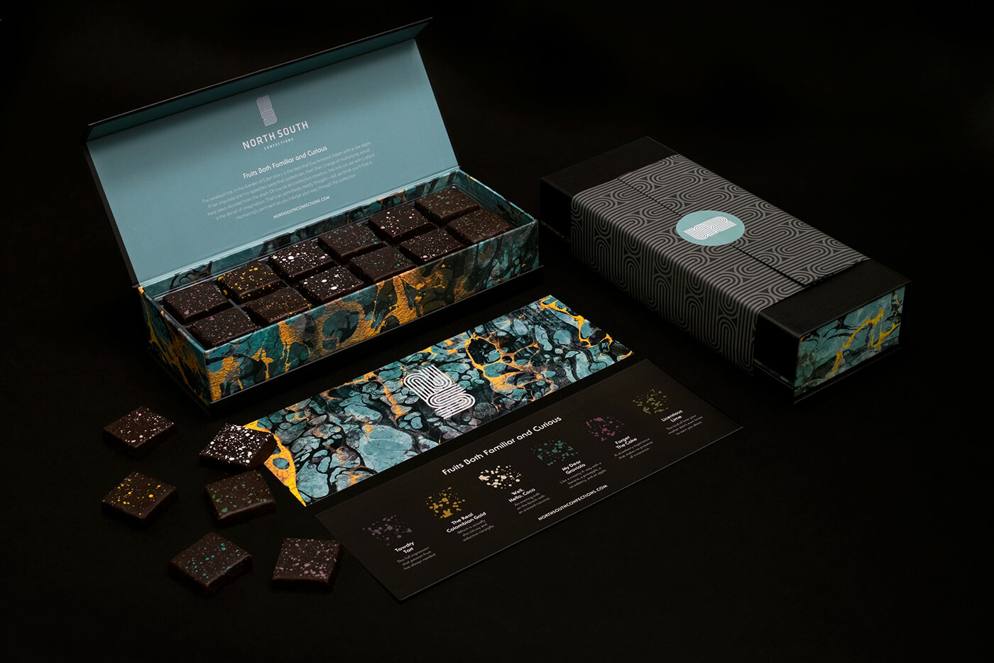 North-South chocolates as a gift