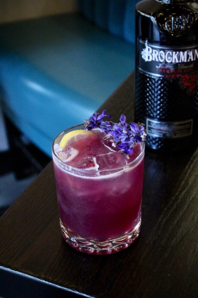 Gully Juice with Brockmans gin recipe