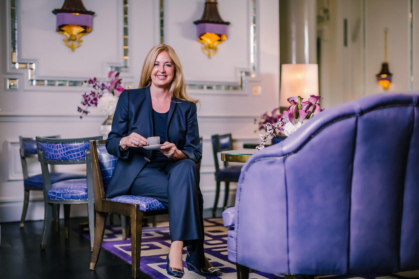 Doris Greif, manager operations of The Langham London Hotel