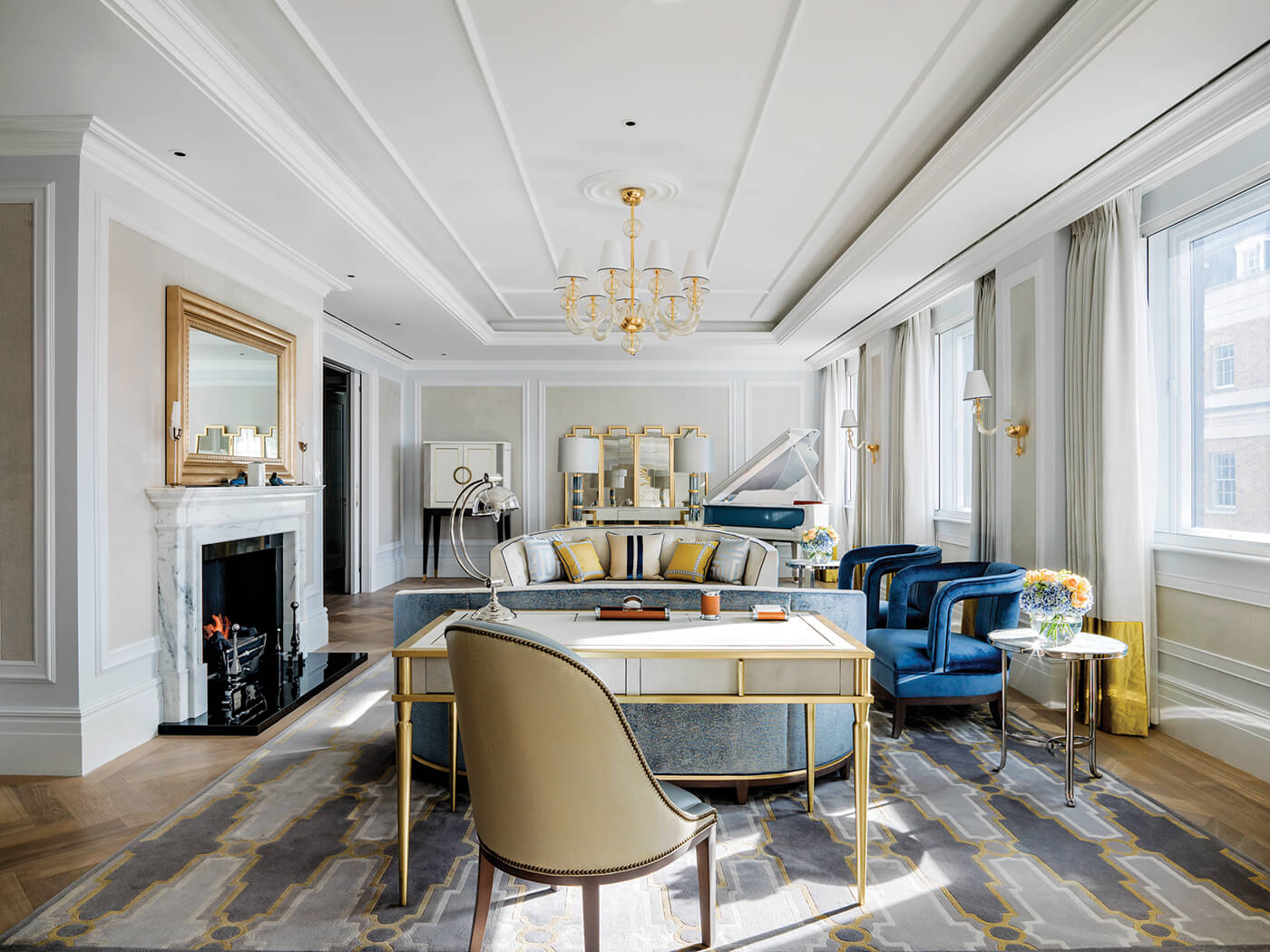 The Sterling Suite-Drawing Room at The Langham London