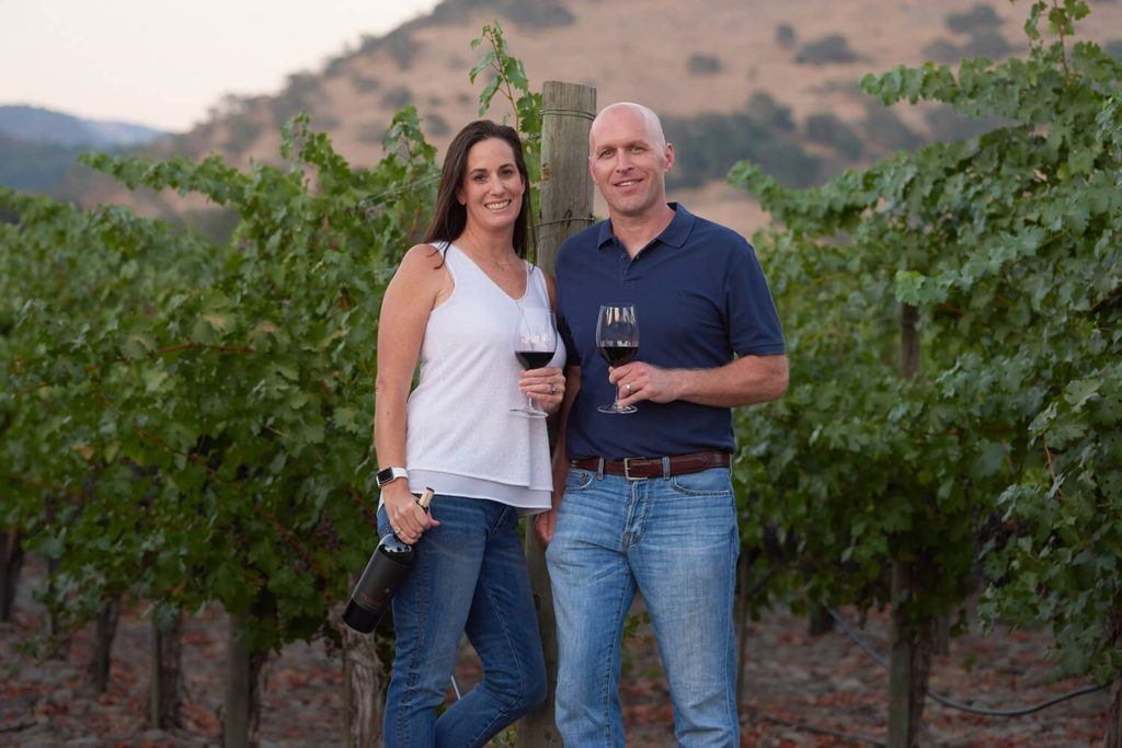 Dave & Christi, founders of C. Elizabeth Wines