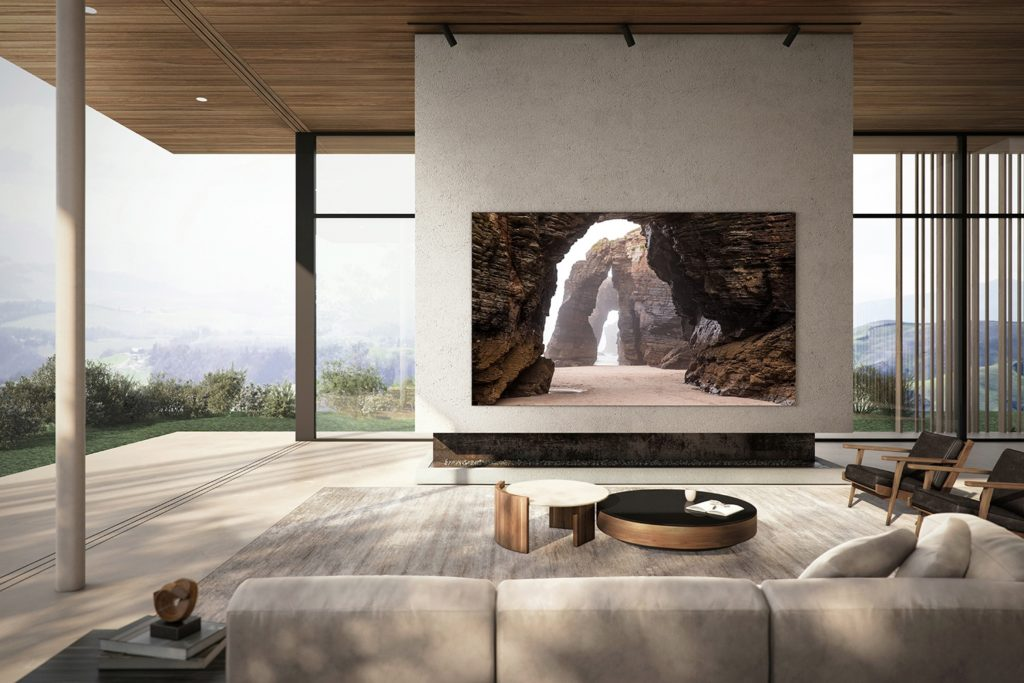 Samsung's 110-inch MicroLED TV luxury gadget