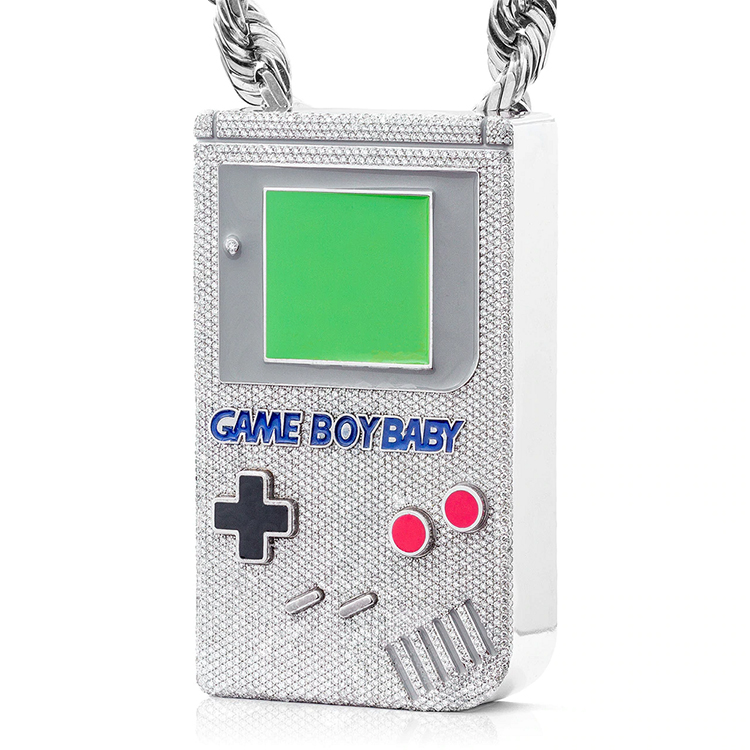 Diamond and Gold-Encrusted game Boy - $29, 000