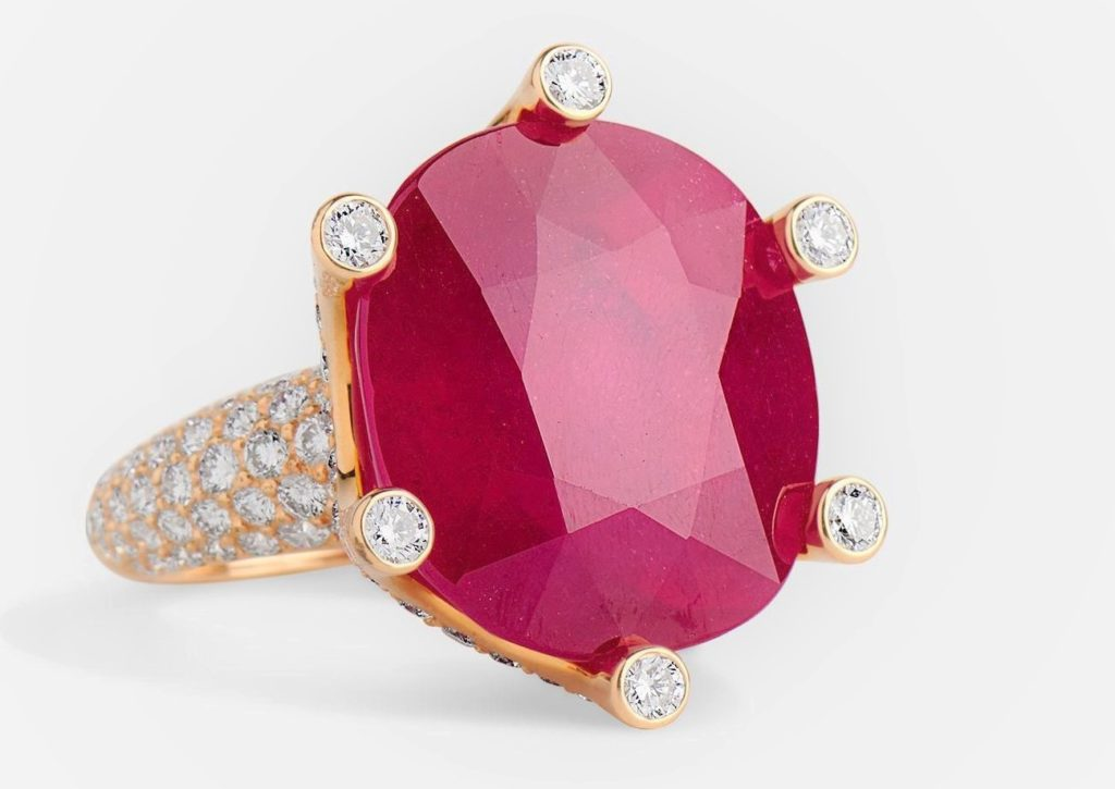 Idaya Ruby Ring by Sanjay Kasliwal