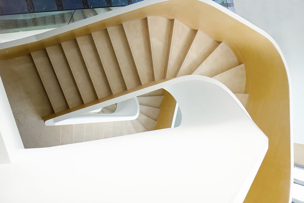 Rongan Stairs designed by Goudie Associates