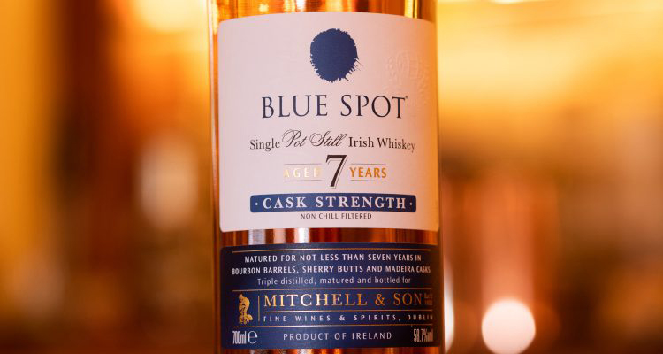 Blue Spot Irish whiskey