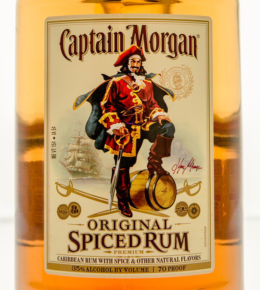 Captain Morgan Spiced Rum alcoholic drink