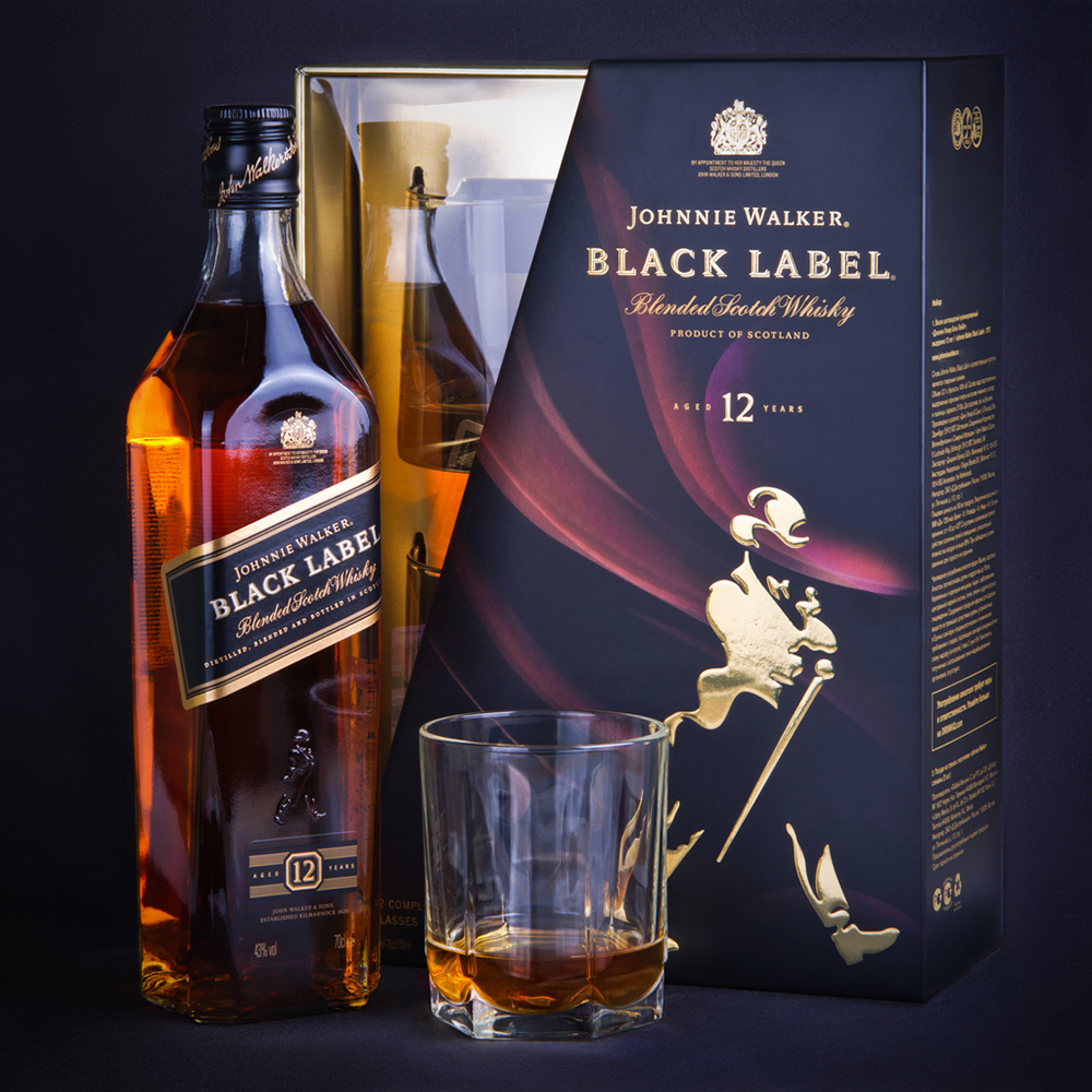 Johnnie Walker Black Label alcoholic drink