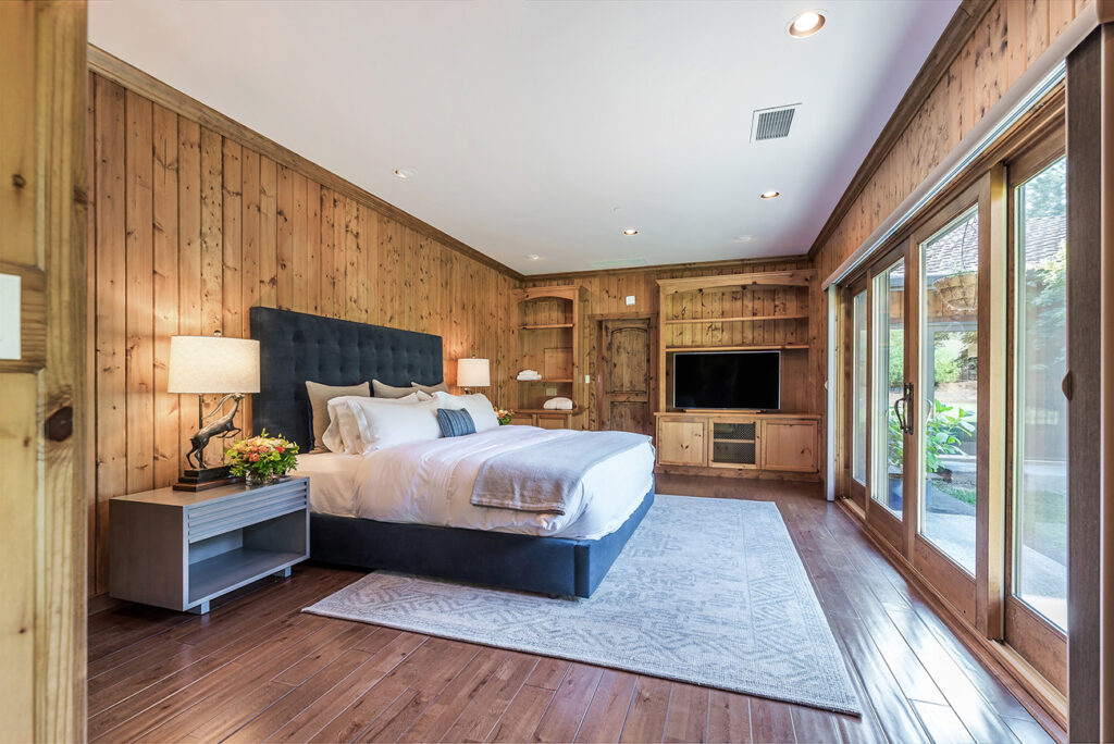Master Bedroom at the NewTree Ranch