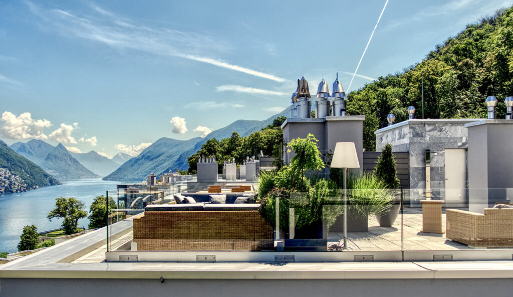 Penthouse for sale Paradiso in Lake Lugano by Wetag Consulting