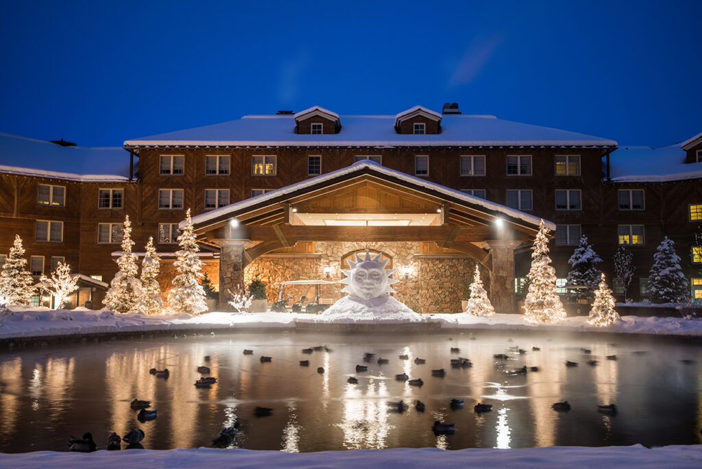 Sun Valley Lodge Winter